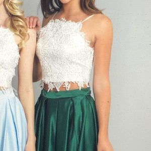 Two piece semi formal/cocktail dress